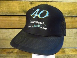 40 Isn'T Fatal But It Hurts A Lot Camionneur Réglable Chapeau Adulte Cas... - $2.06