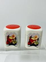 Vintage Coca Cola 75th Anniversary Santa Claus Salt and Pepper Shakers  - $13.99