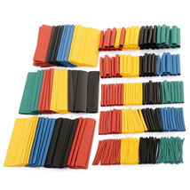 Shrink Heat Tubing Sleeving 5 Color 8 Size 2 :1 Polyolefin Halogen 328Pcs Kit - $12.06