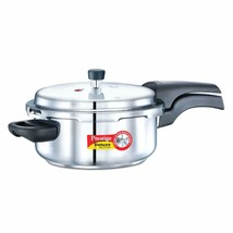 Prestige Deluxe Alpha Outer Lid Stainless Steel Pressure Cooker, 3 L, Si... - $91.07