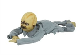 Crawling Zombie Baby, Halloween Party Accessory Prop/Room Decoration - $63.57