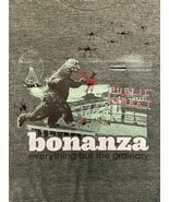 "Bonanza ""Bonzilla Drone Attack"" T-Shirt, Dark Green - $15.00"