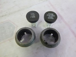 06 07 08 09 10 11 Honda Civic Radio Knob Set 39100-SNA-A610 2AL0 COE22 - $15.84