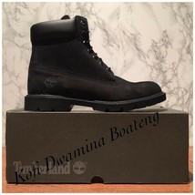 Timberland Men's Basic Boot 6 Inch 19039 Basic Black Suede. SZ:12 - $115.94