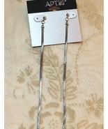 Apt 9 Linear Serpentine Chain Dangle Drop Earrings - $12.86
