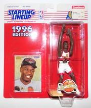 NBA Starting Lineup 1996 Dikembe Mutombo Atlanta Hawks HOF Collectible S... - $9.99