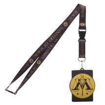 Harry Potter Ministry of Magic ID Badge Holder Keychain Lanyard - $8.75