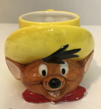 1994 Looney Tunes Figural Mug by Applause Speedy Gonzales Collectors Cof... - $12.50