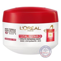L'oreal Elseve Total Repair 5, Deep Repairing Mask for damage hair 200ml - $10.23