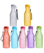 Portable Plastic Sports Water Bottles Container... - $3.99