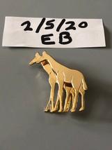 Vintage Goldtone Giraffe Brooch/Pin - $9.89