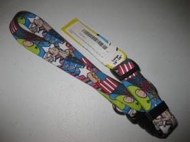 "Adjustable Dog Collar by Yellow Dog Design, Large 18"" - 28"" American Dream RWB - $11.87"