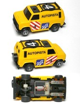 1980 Ideal Rare To See Autopista Van Truck Slot Car Unused Majorette Chassis A++ - $54.44
