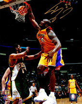 SHAQUILLE O'NEAL (SHAQ) Signed L.A. Lakers Action 8x10 Photo w/#34 - SCH... - $130.03