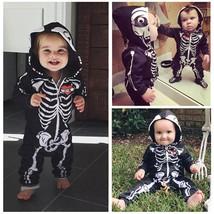 Newborn Infant Kids Baby Boy Girl Romper Hooded Jumpsuit Bodysuit Clothe... - $22.00