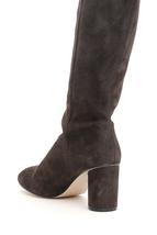 New Stuart Weitzman Eloise 75 Boots Eloise 75 Asphalt Authentic Nwt 9.5 - $246.51