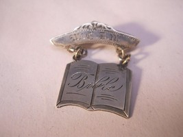 Bible Brooch Pin Christian Jewelry 925 Crafted Sterling Silver   nSS99 - $19.99