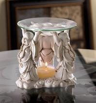 HAPPY BUDDHA Figurine Oil Warmer Zen Fragrance Diffuser - $19.22