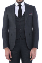Private Label Turkey WESSI, by J.VALINTIN Slim Fit 126-90 Charcoal Green... - $161.49