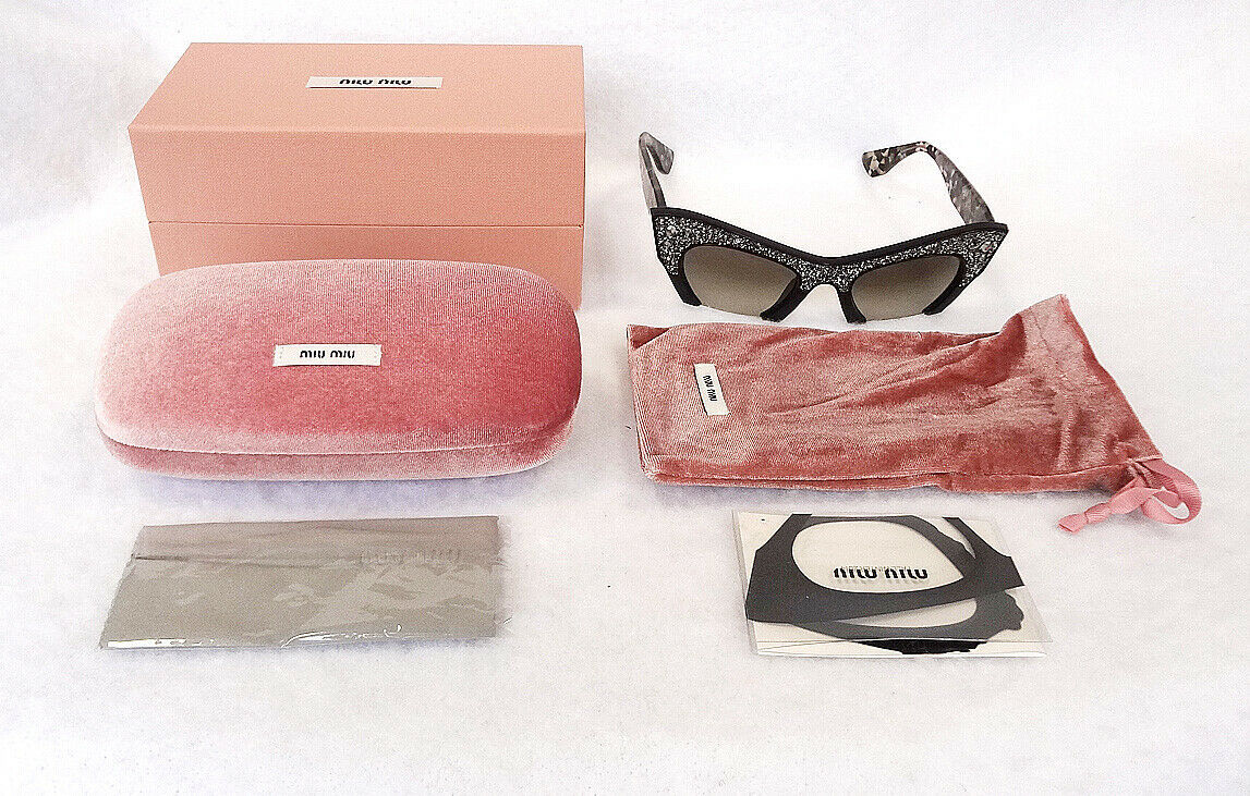 MIU MIU Women's Sunglasses MU02QS 1AB4M1 Tortoise 145 MADE IN ITALY - New!