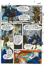 Original 1975 Phantom Stranger 38 page 8 DC comic book color guide art: ... - $99.50