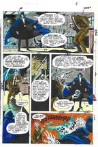 Original 1975 Phantom Stranger 38 page 8 DC comic book color guide art: ... - $99.50