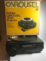 Kodak Carousel 760H Projector w/Slide Tray FAST FREE SHIPPING!! E4-2TV A... - $59.35