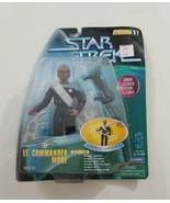 "Star Trek Playmates 6"" Warp Factor Series 1 Lt Commander Worf Action Figure - $23.36"
