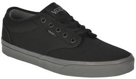 VANS Atwood (Check Liner) Black/Grey Skate Shoes MEN'S 7 WOMEN'S 8.5 - $47.95