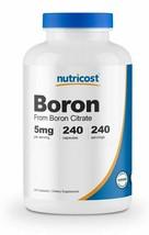Natural Nutricost Boron Capsules 5mg Per Serving (240 Vegetarian Caps) O... - $43.98