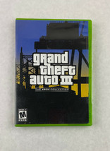 Grand Theft Auto III GTA 3 Xbox Collection Microsoft Xbox 2003 Game Rockstar  - $5.90