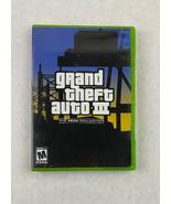 Grand Theft Auto III GTA 3 Xbox Collection Microsoft Xbox 2003 Game Rock... - $5.90