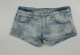 Forever 21 XXI Light Wash Blue Denim Short Shorts Juniors Size 27 - $6.99