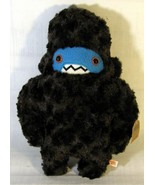 "Woolly Sasquatch Handmade Plush Studded Toy by Careful It Bites 13"" Tall - $19.79"