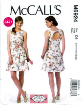 McCall's M6924 Womens Misses Sewing Pattern Dress Close-Fitting 12-14-16-18-20 - $8.25