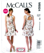 McCall's M6924 Womens Misses Sewing Pattern Dress Close-Fitting 12-14-16... - $8.25