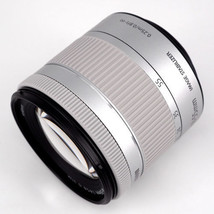 Canon EF-S 18-55mm F4-5.6 IS STM Camera Lens Silver -Bulk Package image 1