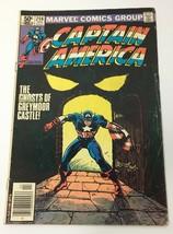 Captain America Comic Book Vol 1 No 256 April 1981 Marvel Comics Group Good - $10.98