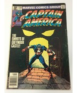 Captain America Comic Book Vol 1 No 256 April 1981 Marvel Comics Group Good - $10.98