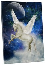 "Pingo World 0722Q9QT1OA ""Magic Unicorn III Children Kids"" Gallery Wrapped Canvas - $43.51"