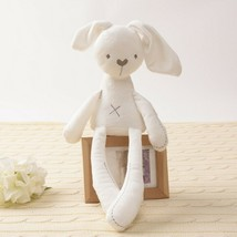 Adorable White Super Soft Plush Bunny Doll Easter Stuffed Animal Toy Rabbit - $16.44