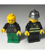 LEGO FIGURES MINIFIGURES mixed pair lot brick policemen cops police officer - $14.80