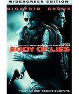 Body of Lies (DVD, 2009, Widescreen) - ₹729.42 INR