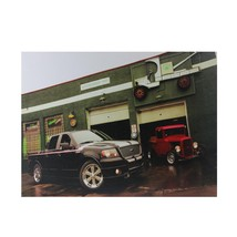 Northlight LED Ford Trucks at O'Briens Auto Service Canvas Wall Art 15.7... - $17.81