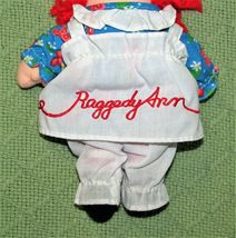 """8"""" KNICKERBOCKER RAGGEDY ANN ANDY Vintage Applause Dolls Embroidered Eyes TAIWAN image 6"""