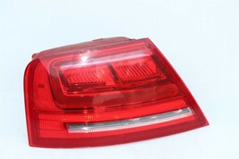 11-14 Audi A8 S8 Quarter Mounted Outer LED Taillight Combo Lamp Driver Left LH image 1