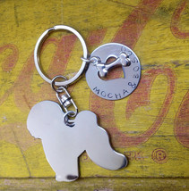 NEW Bichon Frise Custom Keychain Dog Lover - $18.00