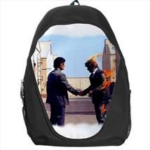 backpack wish you were here the wall  rock band  school bag bookbag  - $39.79