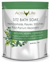 Sitz Bath Soak: Provides Soothing Treatment for Hemorrhoids, Fissures & Postpart image 1
