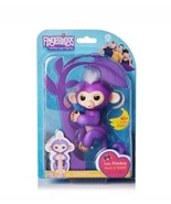 WowWee Fingerlings Mia the Purple Monkey NIB In Hand - $29.99